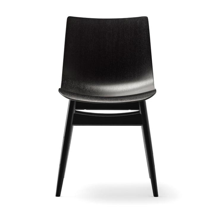 La chaise BA001T Preludia de Carl Hansen en hêtre verni noir