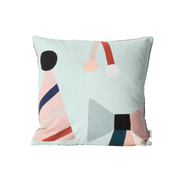 ferm Living - Coussin Party, mint