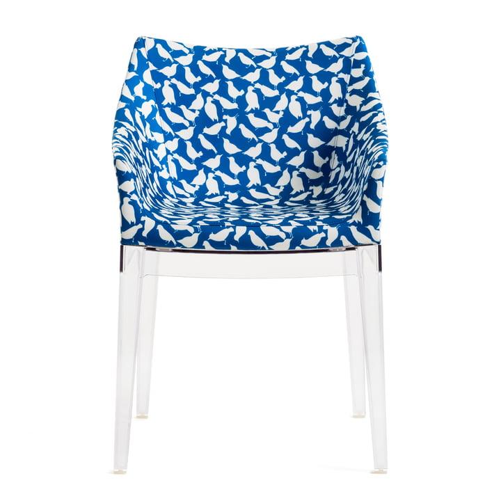 La chaise Madame de Kartell, transparent / uccellini