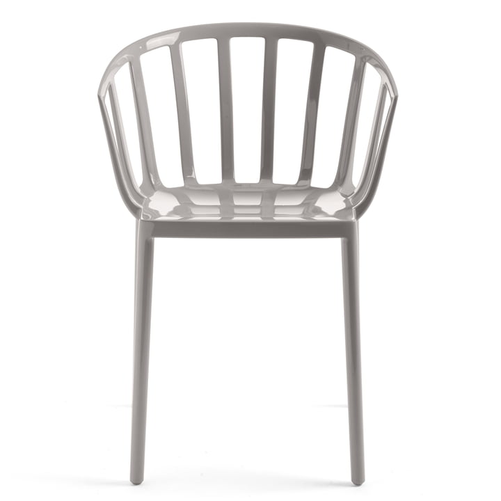 La chaise Venise de Kartell en gris