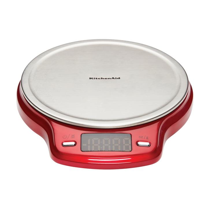 KitchenAid - Balance numérique, rouge