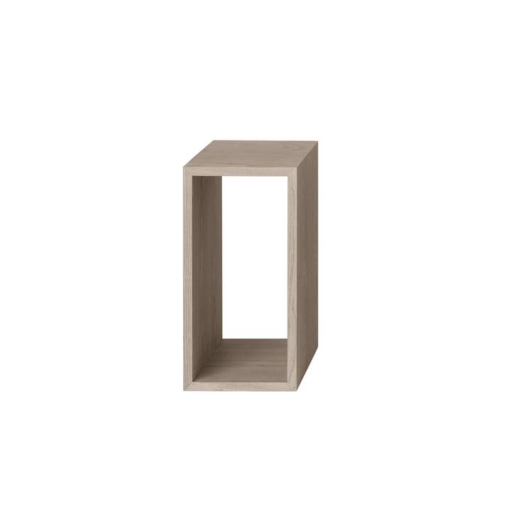 Muuto - Stacked Module d'étagère 2. 0 sans panneau arrière, petit / chêne