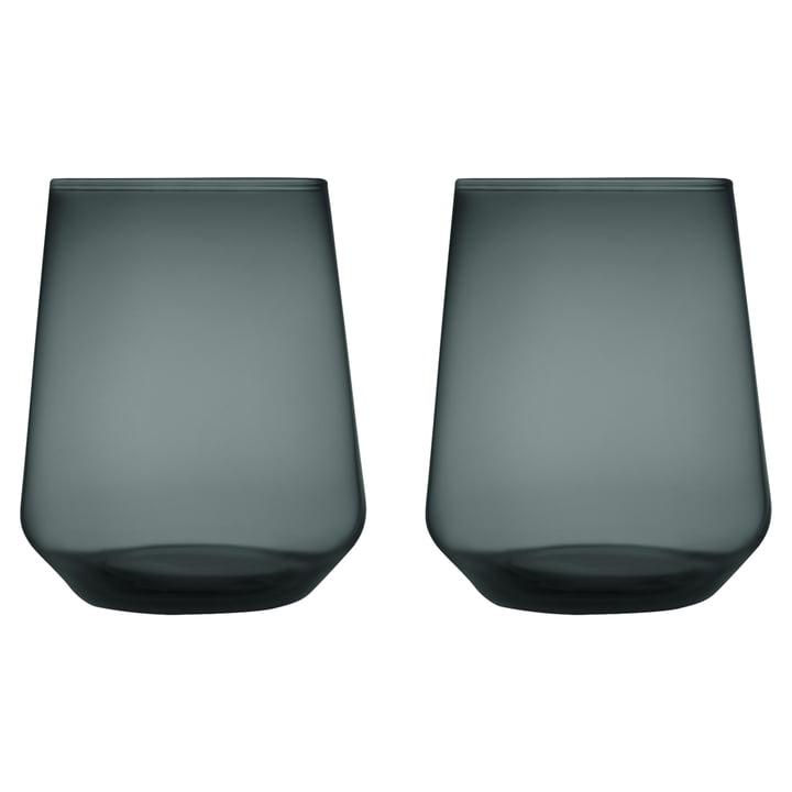 L'Iittala - Essence verre à eau 35 cl, gris foncé
