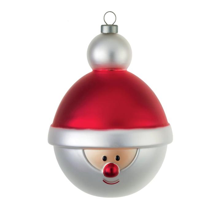 A di Alessi - Boule de Noël, Père-Noël