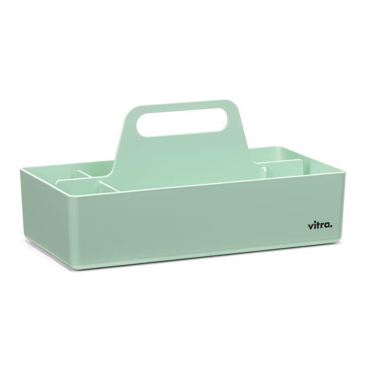 Boîte à outils de rangement couleur menthe de Vitra