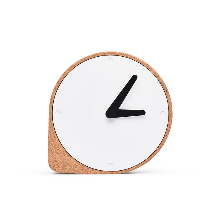Puik - Horloge de table Clork, nature