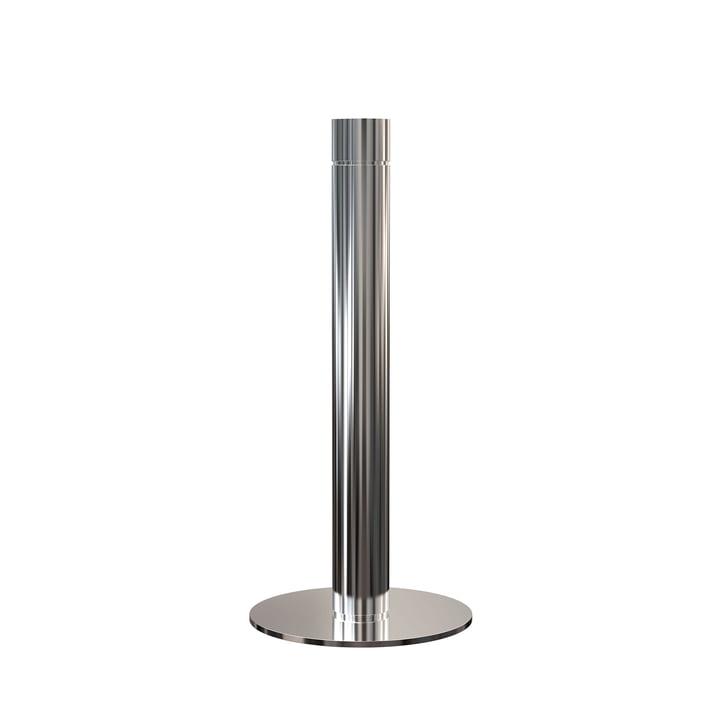 Porte-rouleau de cuisine H 27,5 cm en acier inoxydable poli par Frost
