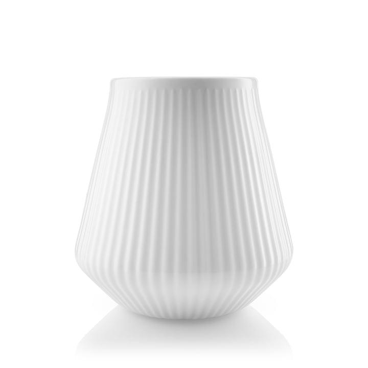 Vase Legio Nova petit, H 15,5 cm en blanc par Eva Trio