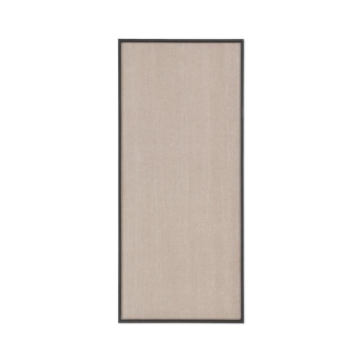 Scenery Tableau d'affichage 45 x 100 cm de ferm Living en noir / beige