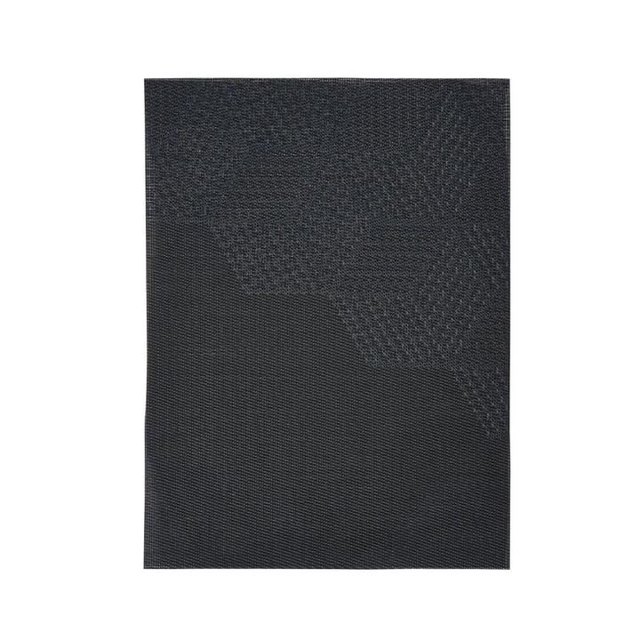Napperon Hexagone, 40 x 30 cm de Zone Denmark en noir