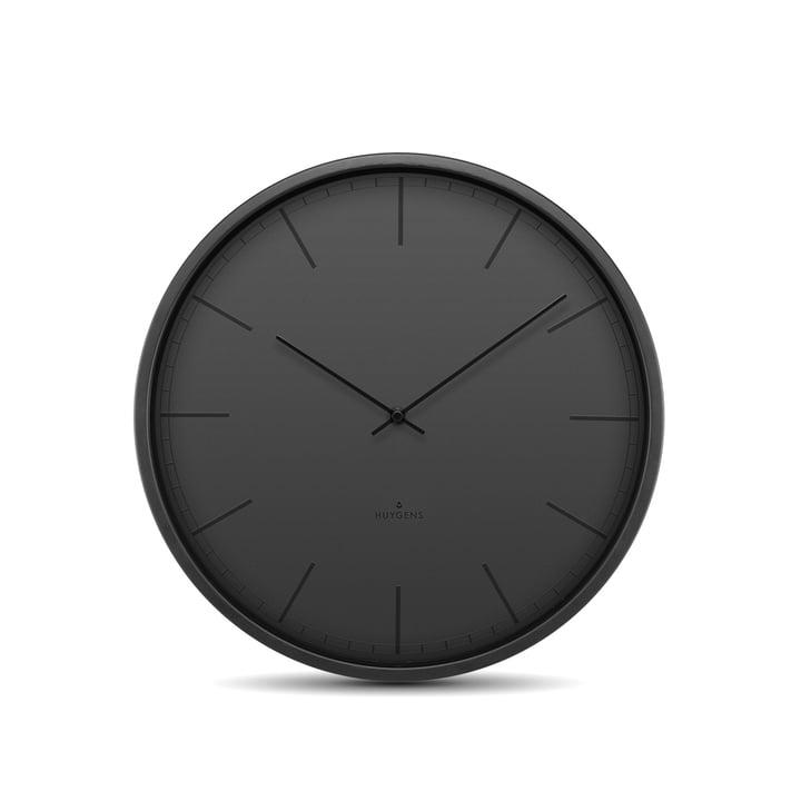 Tone35 Horloge murale par Huygens en noir