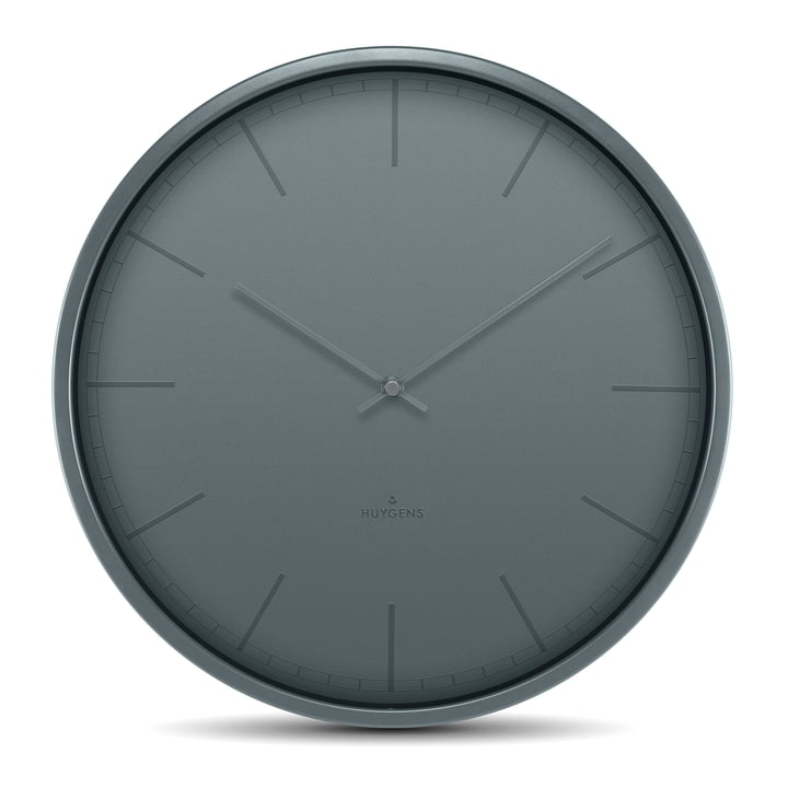 Tone35 Horloge murale par Huygens en gris