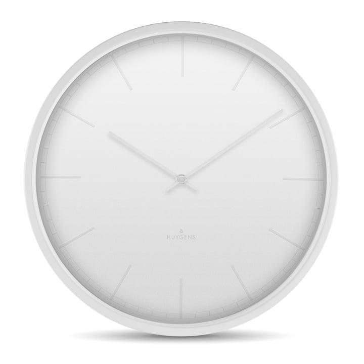 Tone35 Horloge murale par Huygens en blanc