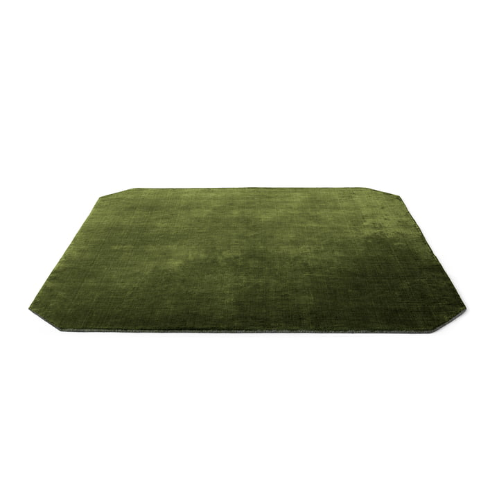The Moor tapis AP6 de & tradition - 240 x 240 cm, pin vert