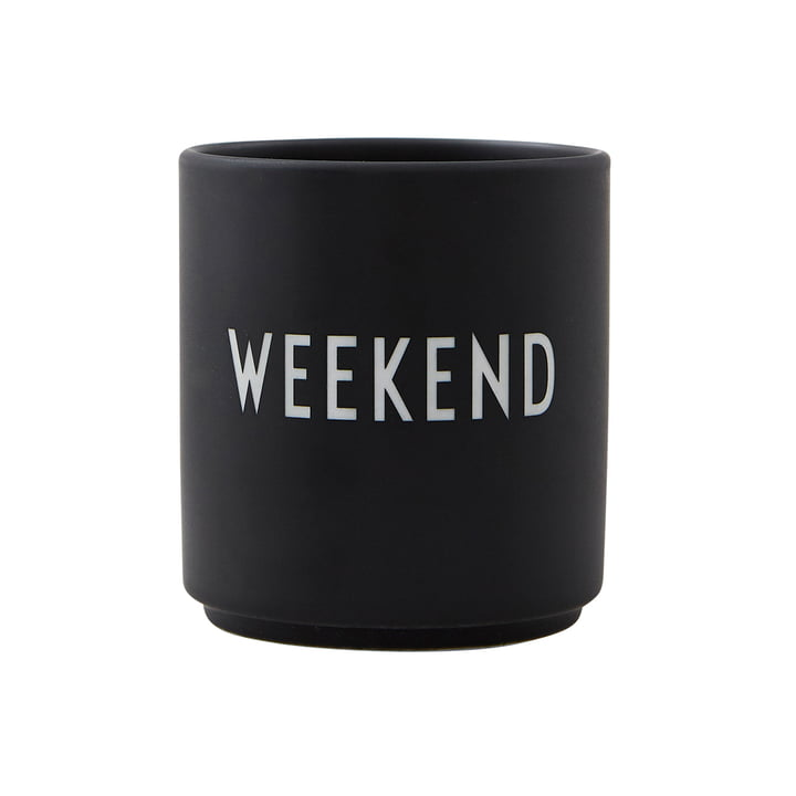 AJ Favourite Porcelain Cup Weekend par Design Letters