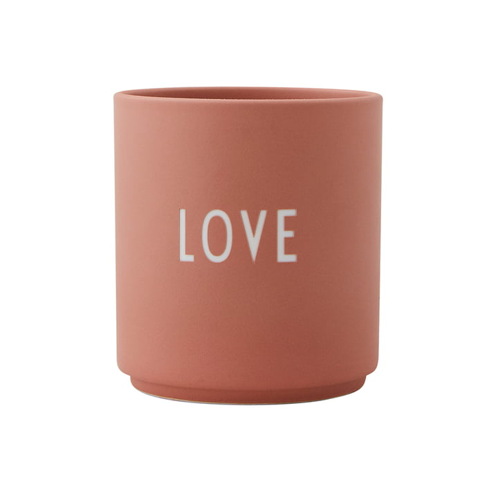 Lettres d'amour en porcelaine AJ Favourite Cup Love by Design