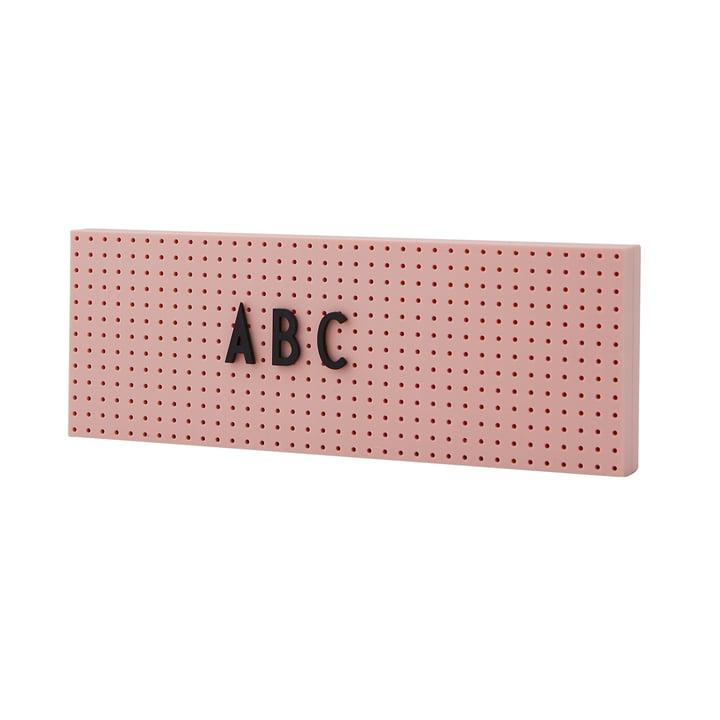 The Sign Petit tableau d'affichage de Design Letters en rose