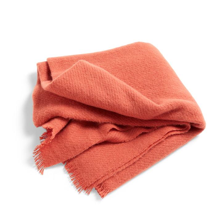 Couverture en laine mono 130 x 180 cm à partir de Foin en églantine