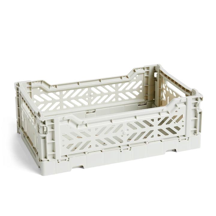 Colour Panier de caisse S, 26,5 x 17 cm de Hay en gris clair