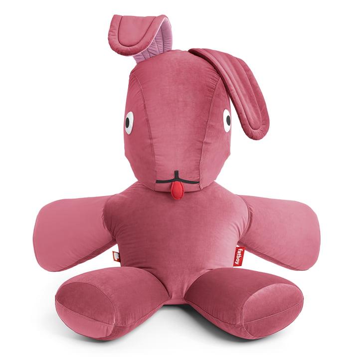 Fatboy - CO9 XS Lounge Rabbit Velvet en vieux rose