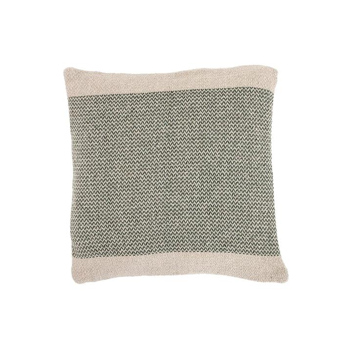Coussin en coton de Bloomingville - 45 x 45 cm en vert