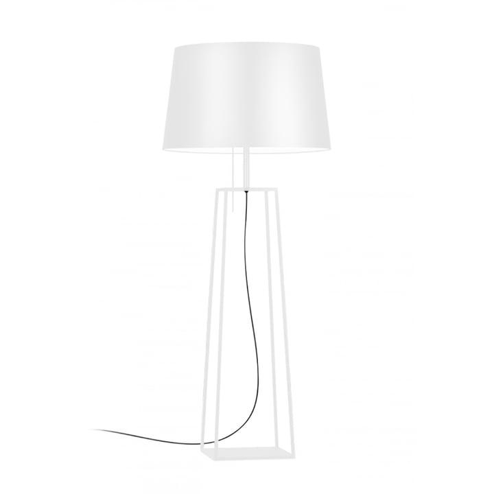 Tiffany 1 lampadaire Carpyen en blanc