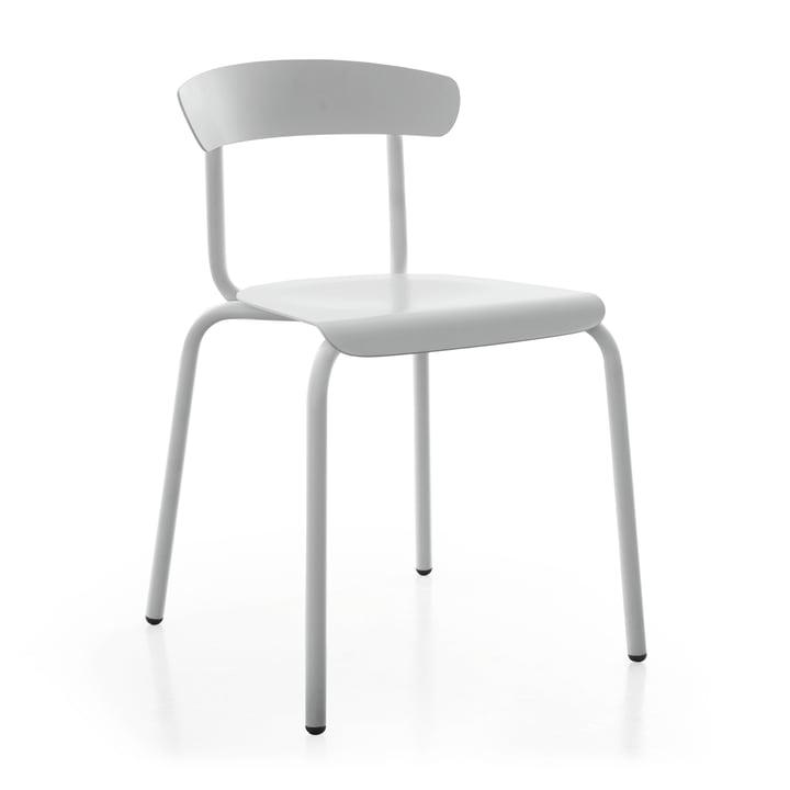 Chaise d'extérieur Alu Mito en gris clair par Conmoto
