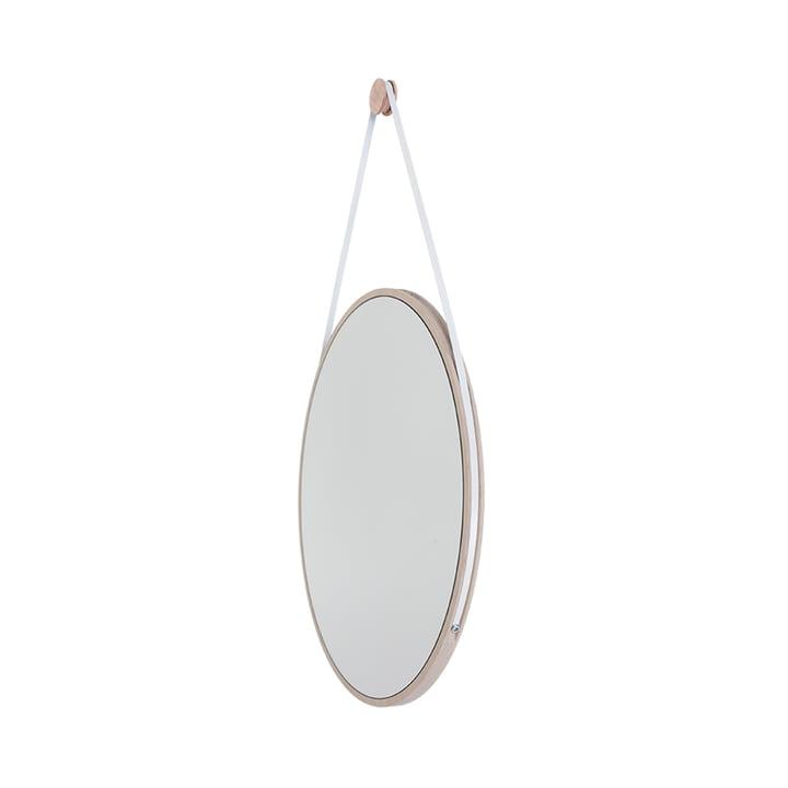Schneider Miroir de Objekte unserer Tage - 85 x 55 cm, cendre huilée / bracelet en acier blanc
