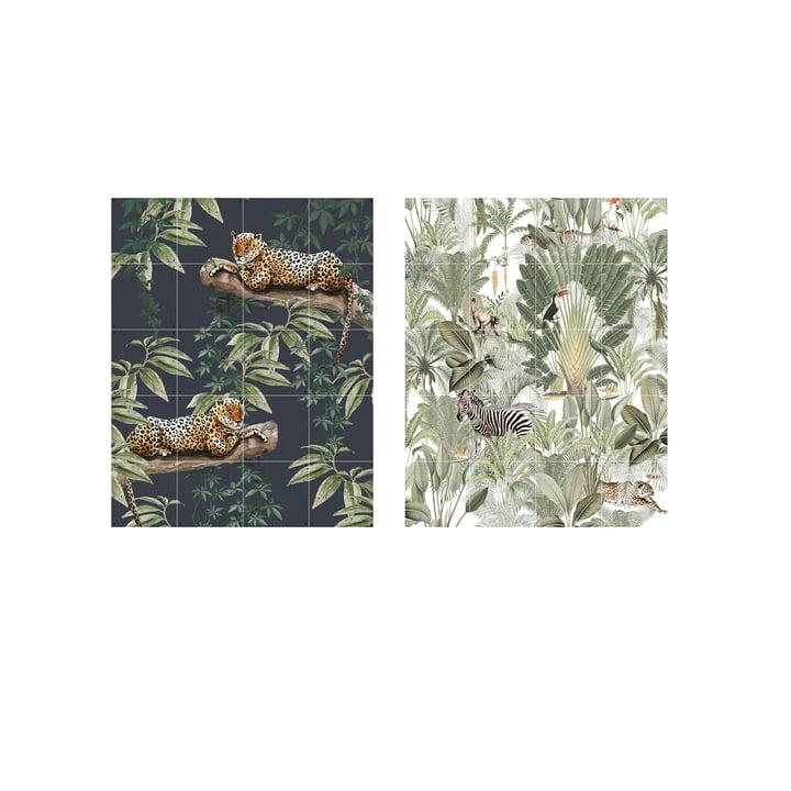 Refroidir dans la jungle & dans la nature 80 x 100 cm par IXXI