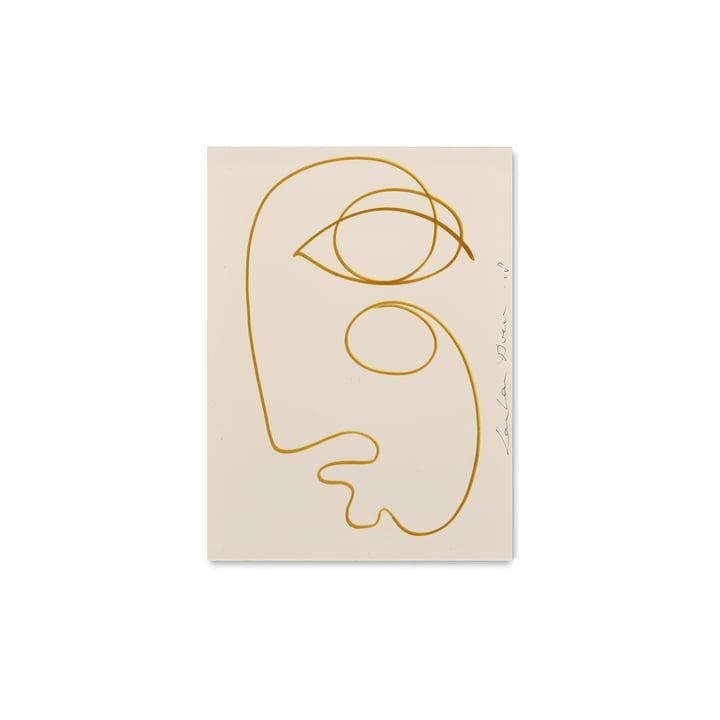 Coulé par Paper Collective, 30 x 40 cm