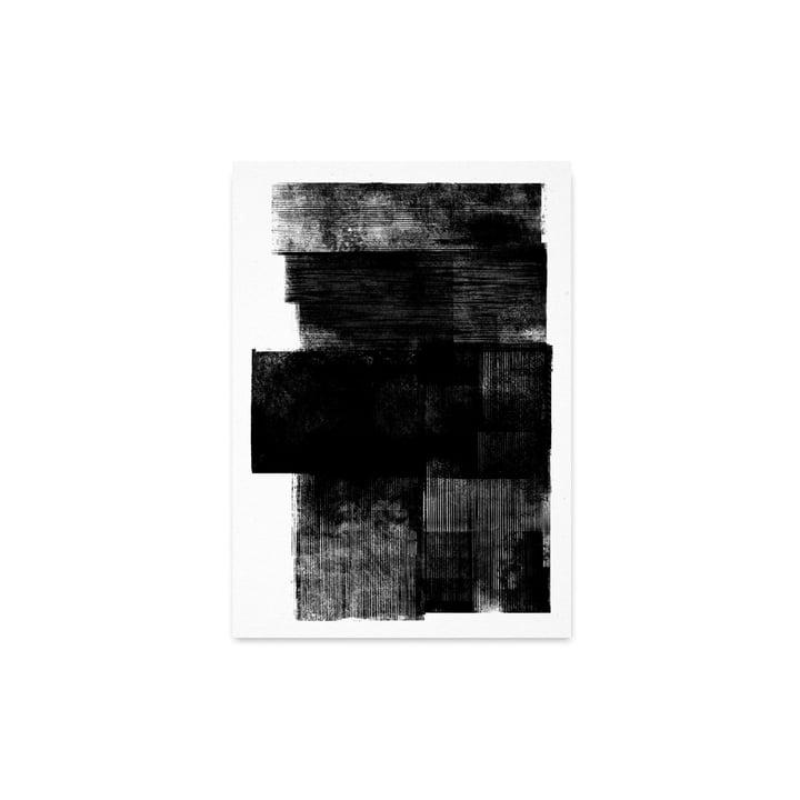 Minuit 01 du Collectif papier, 30 x 40 cm
