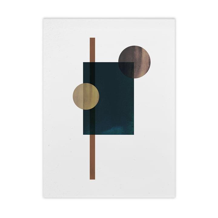 Shapes of Colour 04 de Paper Collective , 50 x 70 cm
