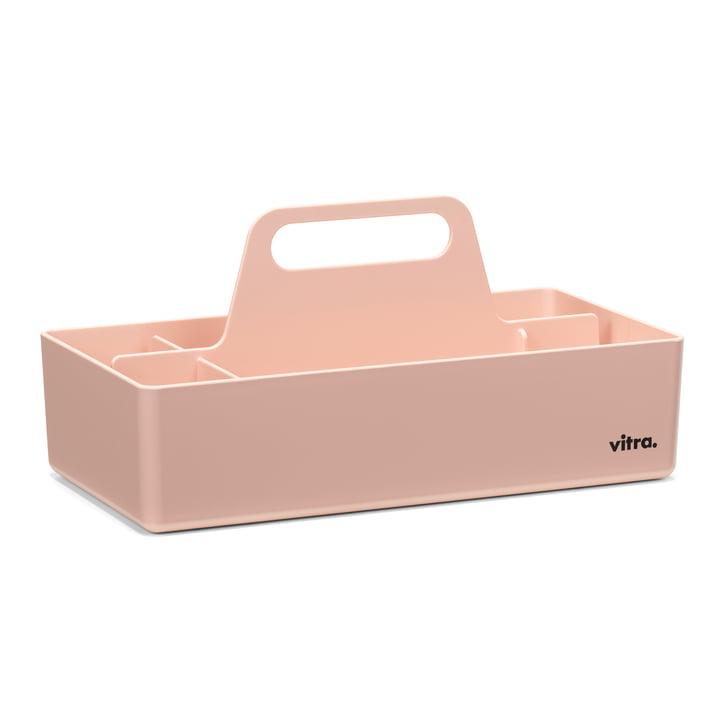 Boîte à outils de rangement Vitra en zartrosé
