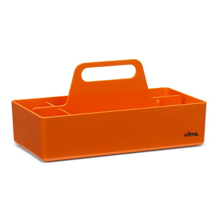 Boîte à outils de rangement Vitra en mandarine
