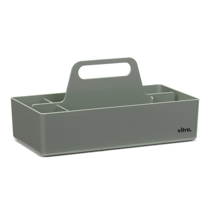 Boîte à outils de rangement Vitra en gris mousse