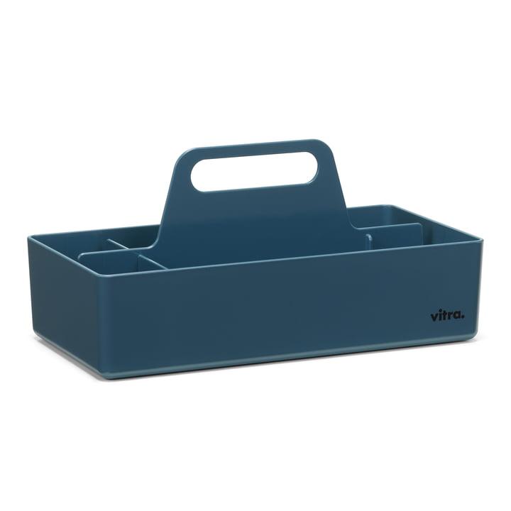 Boîte à outils de rangement Vitra en bleu marine