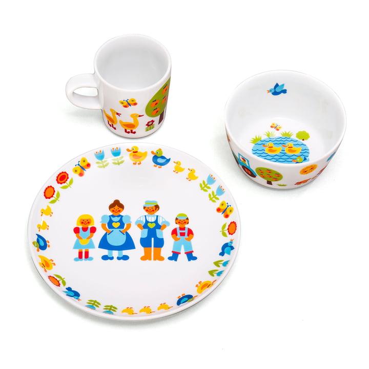 Ferme de vaisselle pour enfants (3 pcs.) par byGraziela