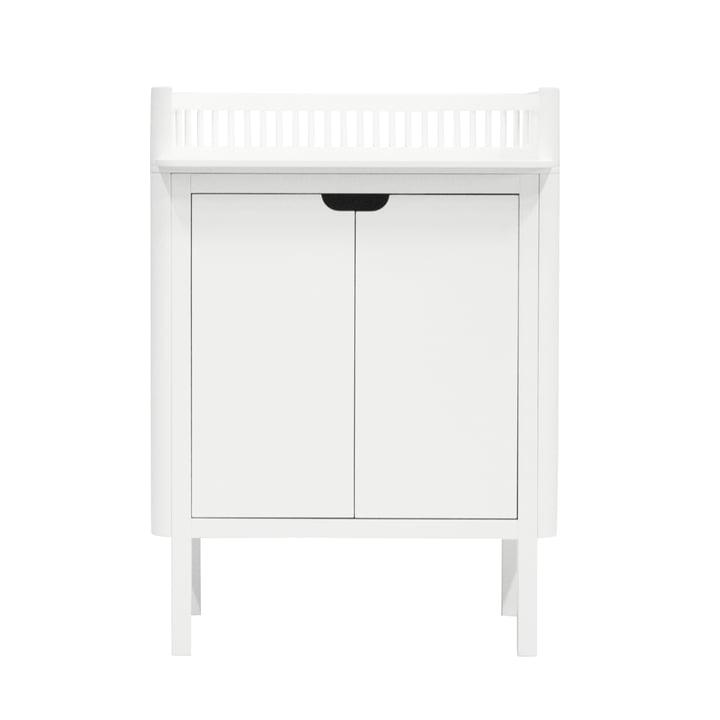 Table à langer Sebra en blanc