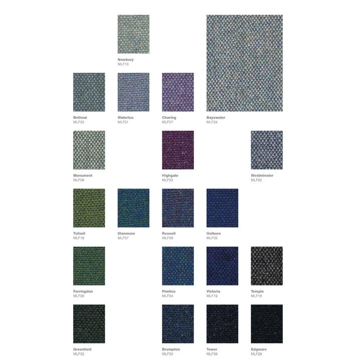 Carte de tissu Main Line Flax de Camira - Page 1