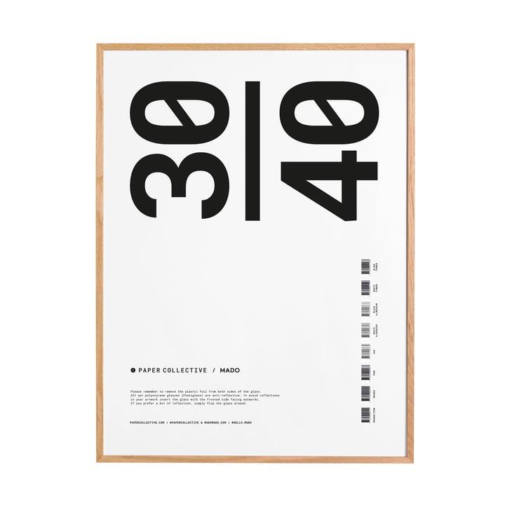 Cadre photo 30 x 40 cm de Paper Collective en chêne