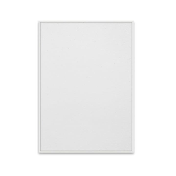 Cadre photo 50 x 70 cm Paper Collective en aluminium blanc mat