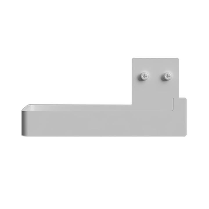 Porte-papier hygiénique de Nichba Design en blanc