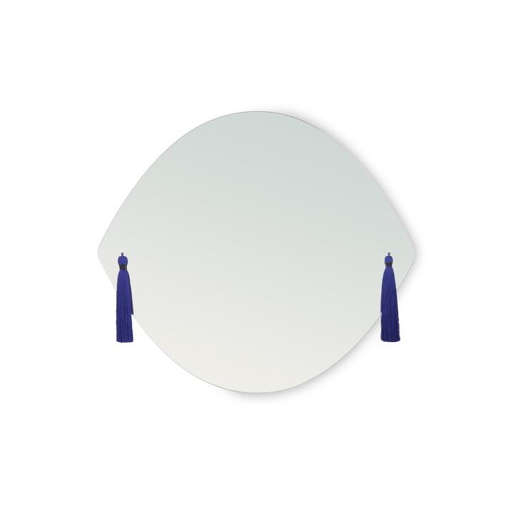 Miroir panache en petit format par Petite Friture