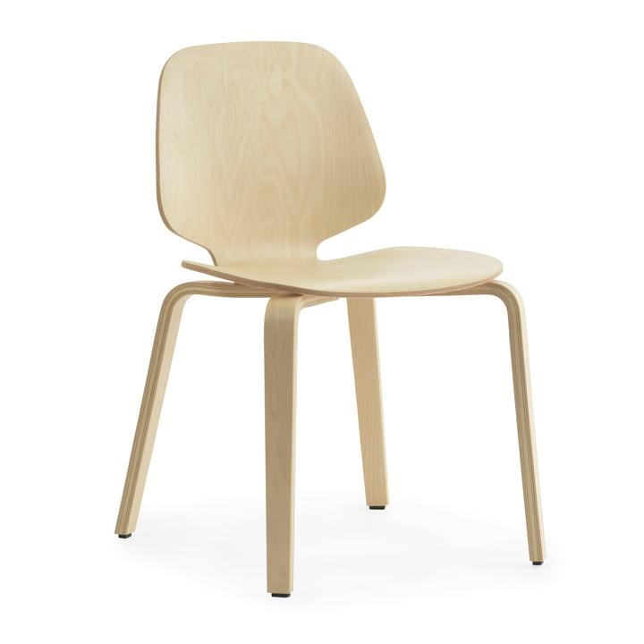 Ma chaise par Normann Copenhagen en bouleau