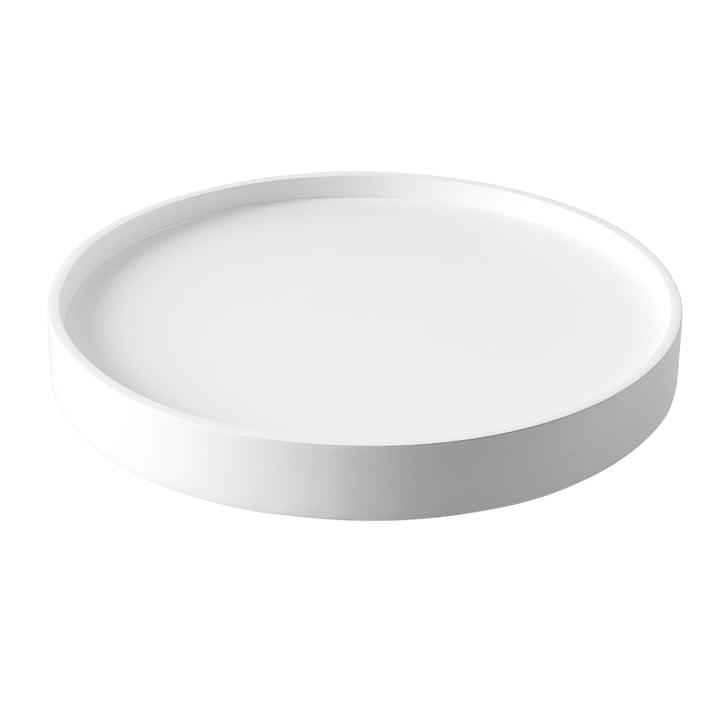 Plateau pour fût Ø 62 x H 7,4 cm de Softline en blanc