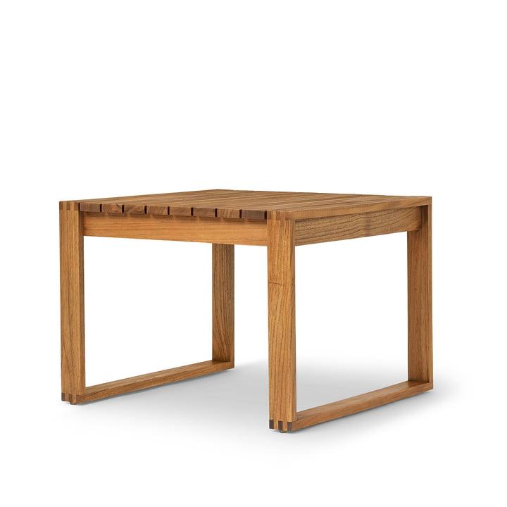 BK16 Table d'appoint 69 x 66 cm de Carl Hansen en teck huilé