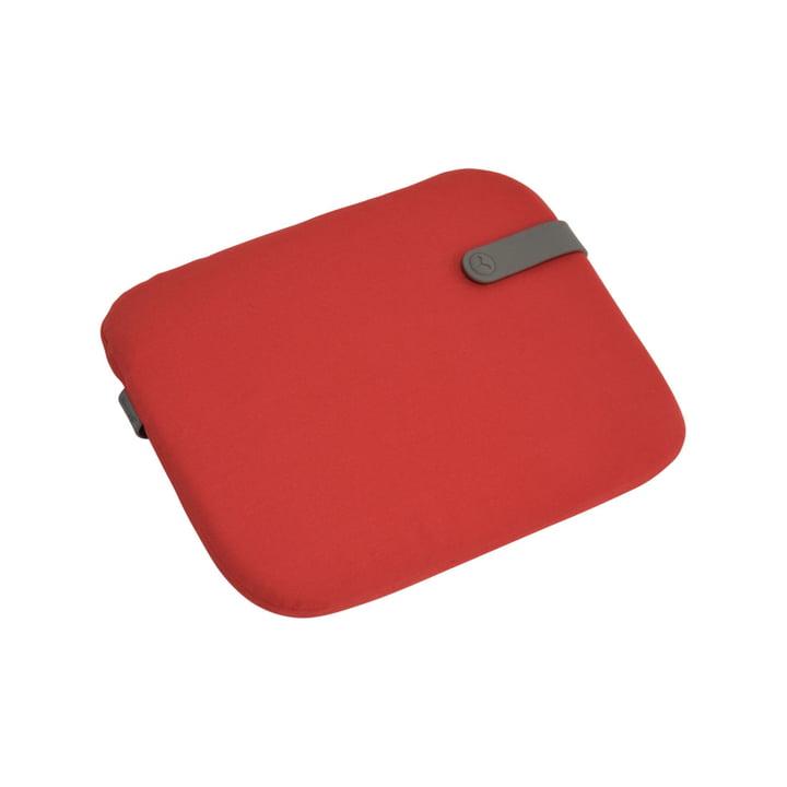 Fermob - Coussin d'assise Color Mix pour chaise de Bistro 38 x 30 cm, rouge bonbon