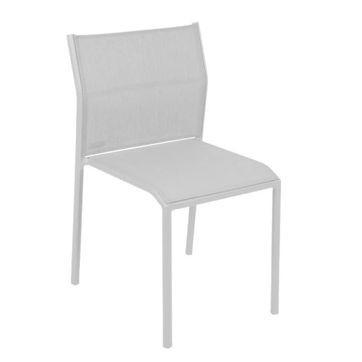 Chaise Cadiz de Fermob en coton blanc