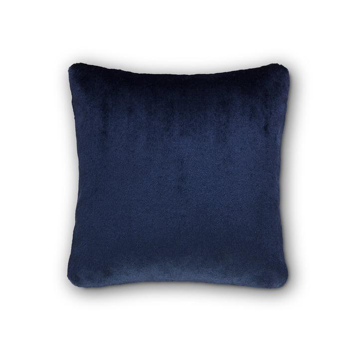 Coussin souple, par Tom Dixon, 43 x 43 cm en bleu