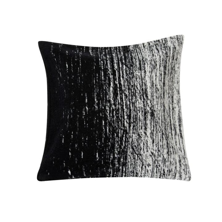 Housse de coussin Kuiskaus, 50 x 50 cm en noir / blanc par Marimekko